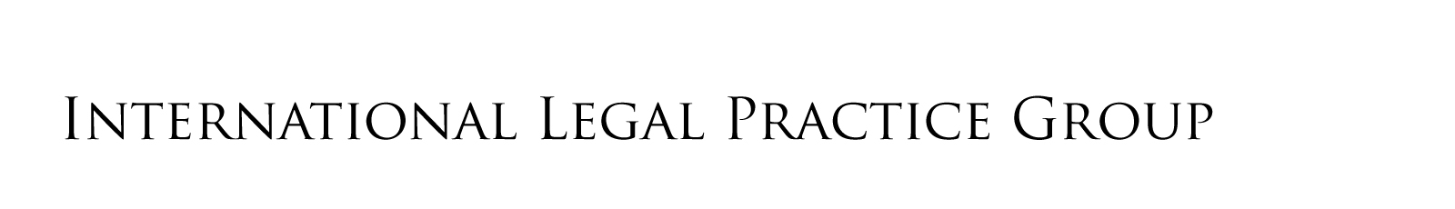 International Legal Practice Group Logo